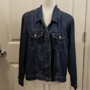 Coldwater chambray shirt jacket